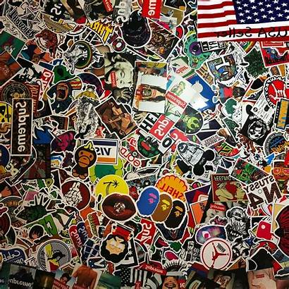 Stickers Cool Skateboard Bomb Sticker Vinyl Dope