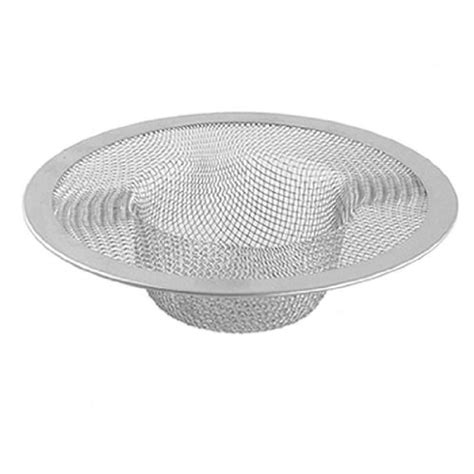 Mesh Sink Strainer Target by New Silver Kitchen Basket Drain Garbage Stopper Metal Mesh