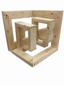 2013: Wood cube on Behance