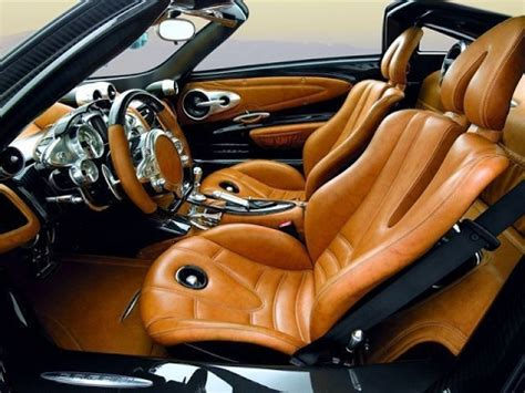 Best Sports Car Interior by 2017 Pagani Huayra Roadster Interior Exterior Review