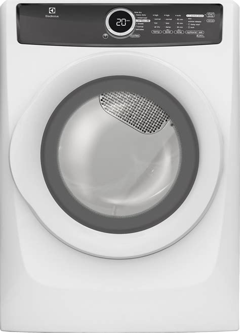 electrolux efmesiw cu ft electric dryer moisture