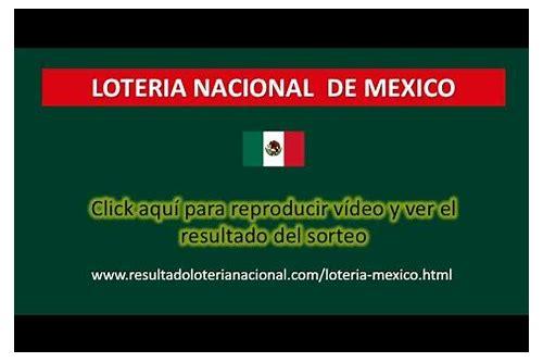 resultados de baixar da loteria nacional mexico
