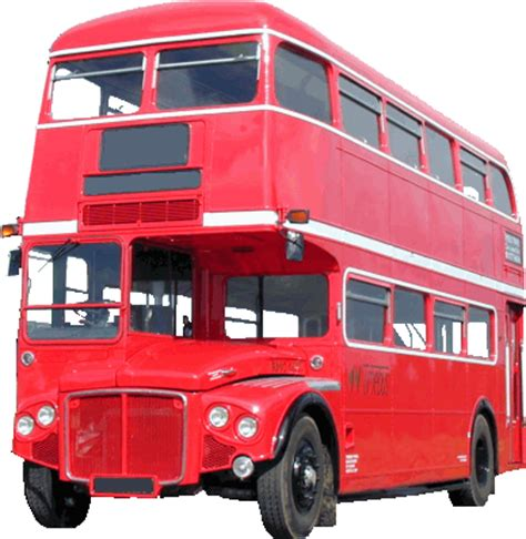 london double decker bus transparent  png images
