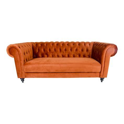 chilli  seter sofa  brandt oransj velur alle sofaer mobelno