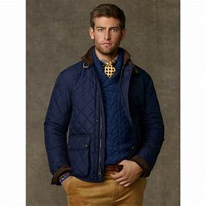 Lyst - Polo Ralph Lauren Cadwell Quilted Bomber Jacket in ...