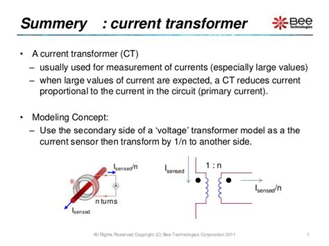 spice of current transformer