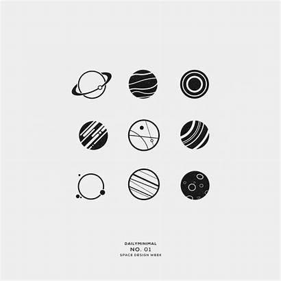 Minimal Space Daily Geometric Designs Tattoo Simple