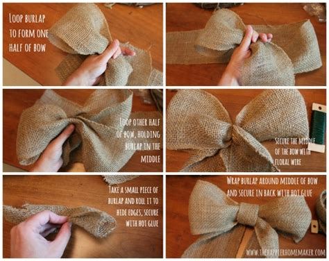 how to make a bow for a wreath diy wreath bow pictures photos and images for facebook tumblr pinterest and twitter