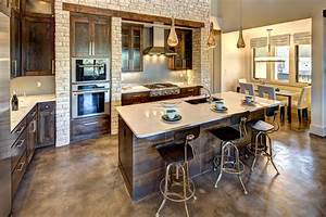 concrete-stained-floors-Dining-Room-Modern-with-dog-eat-in