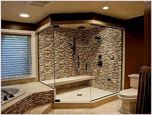 shower ideas for master bathroom build up your master With decorating ideas for master bathrooms