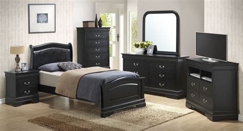 G3150 Youth Upholstered Headboard Bedroom Set Kids And