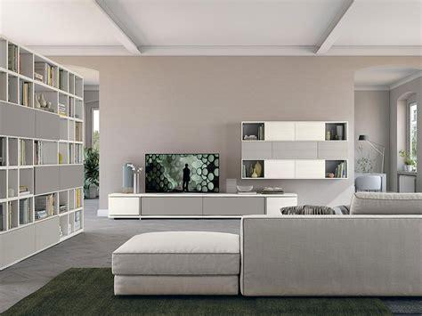 Librerie Mobili Moderni by Soggiorno Con Libreria Living Arredamento Mobili
