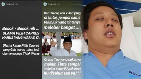 Suami Kena Stroke Usai Hina Prabowo Rey Utami Minta Maaf