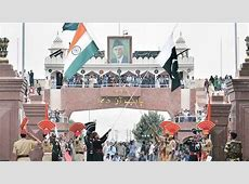AttariWagah check post on IndiaPakistan border What has