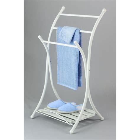 porte serviettes 3 barres corfou blanc