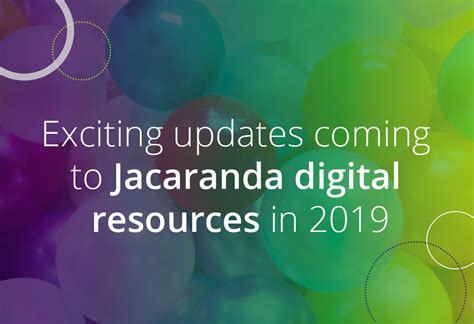 Exciting Updates Coming To Jacaranda Digital Resources In
