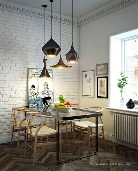 Dining Table Lighting Interior Design Ideas