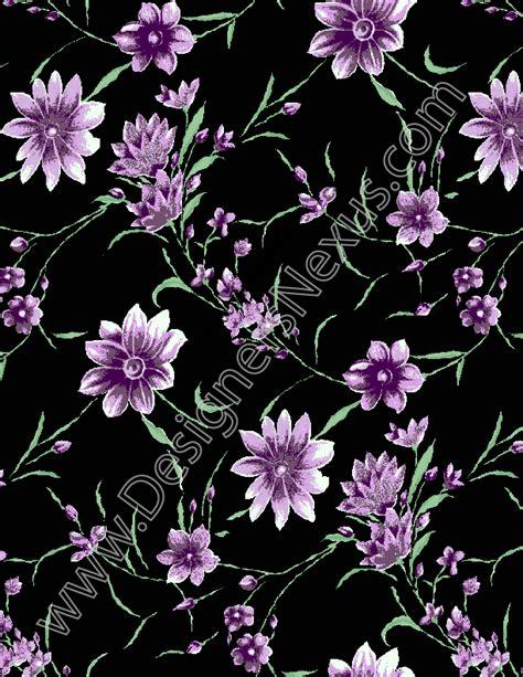digital floral print fabric seamless digital pattern