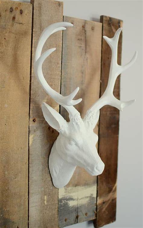 decoart blog crafts diy farmhouse painted deer head