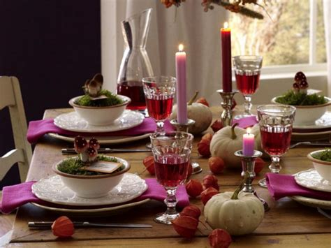 dinner table decoration ideas 26 thanksgiving table decorations digsdigs