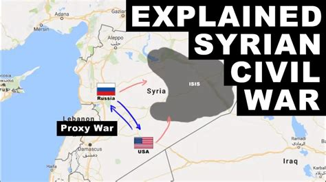 syrian civil war explained   fighting