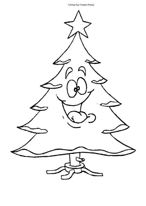 printable christmas trees coloring pages christmas