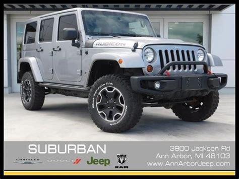 jeep wrangler unlimited rubicon  anniversary