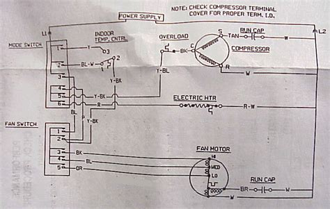 window ac air conditioner maintenance diagnostic chart