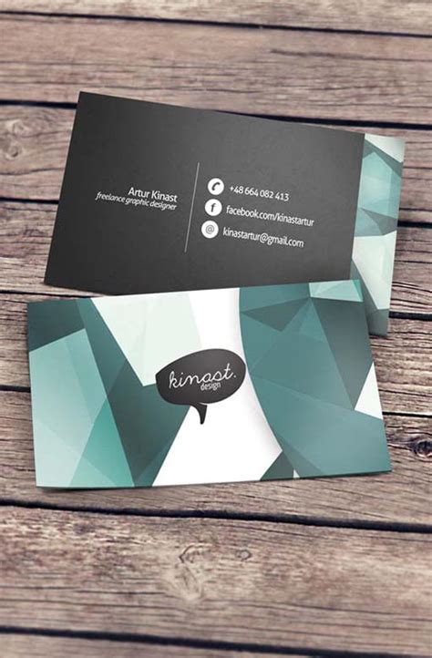 creative business cards  kinast design