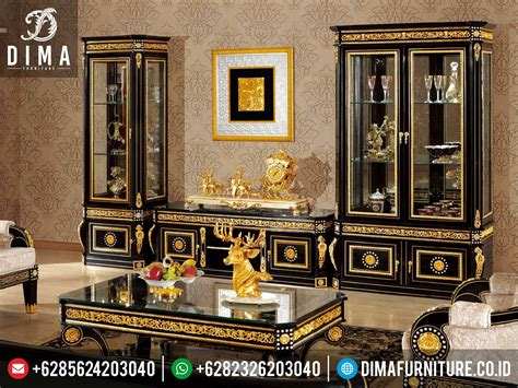 set bufet tv lemari pajangan minimalis mewah 2016 df 0147
