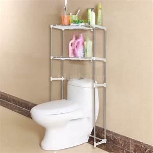 Bathroom, Space, Saver, Storage, Cabinet, Over, The, Toilet, Shelf, Rack, Towel, Hanger