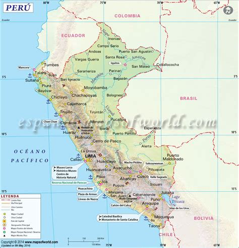 mapa del peru mapa de peru ecuador  peru peru map