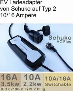 Typ 2 Auf Schuko Adapter : ev ladekabel typ von schuko auf typ2 10 ~ Kayakingforconservation.com Haus und Dekorationen