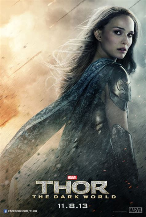 Thor The Dark Worlds Kick Ass Lady Posters Ign