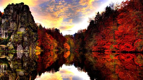 Autumn Lake Wallpapers by Autumn Lake 704752 Walldevil