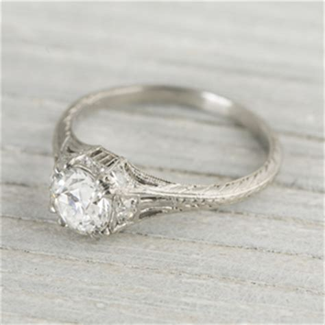 vintage engagement ring collection 2014 designs