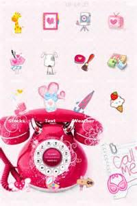 pink phone themes pink phone iphone theme iphone themes