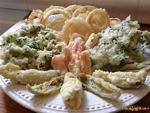 Vegetable Tempura (with Dipping Sauce) Cooking For Love