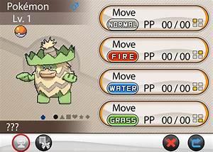 Pokemon Move Screen Template