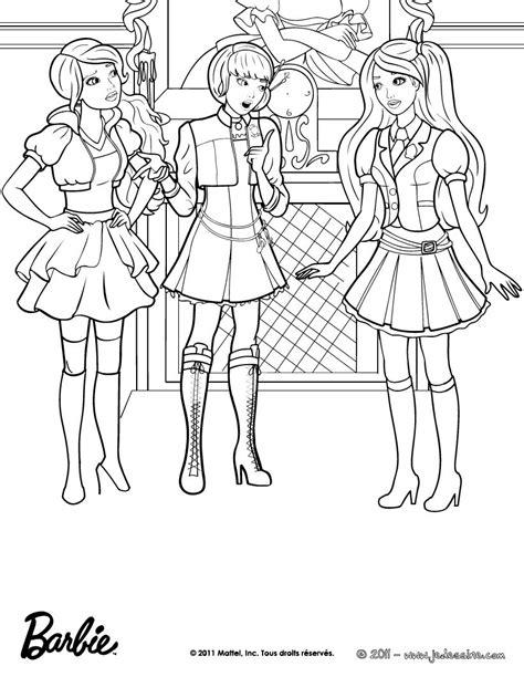 coloriage barbie les beaux dessins de dessin anime  imprimer  colorier page