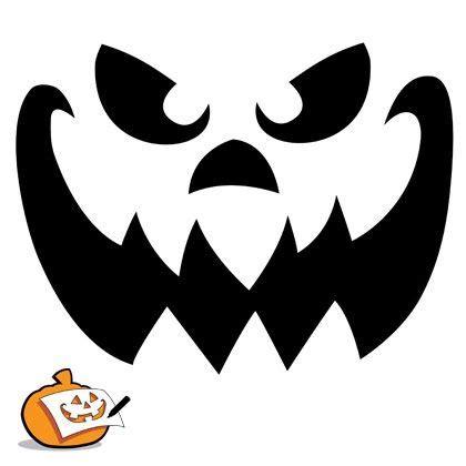 scary pumpkin templates pumpkin faces image king