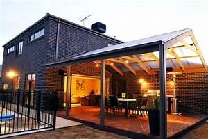Idee De Pergola En Bois : quelques id es de pergola pour une terrasse couverte ~ Melissatoandfro.com Idées de Décoration
