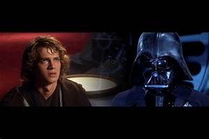 Anakin and Vader by hitokirivader on DeviantArt