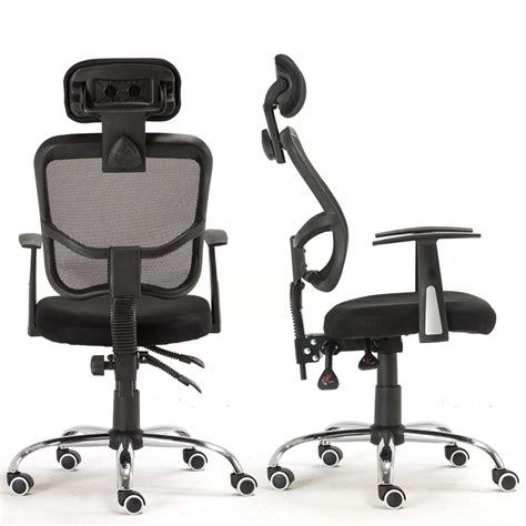 ergonomic mesh high back executive computer swivel desk