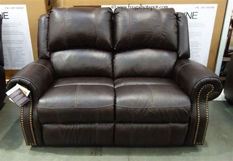Loveseat Costco by Berkline Reclining Leather Loveseat Costco