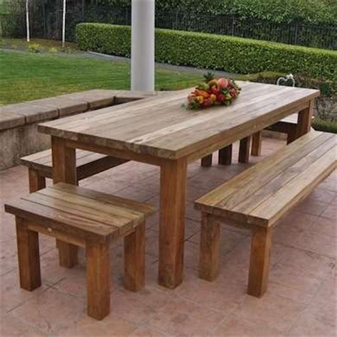 25 best ideas about outdoor wood furniture on