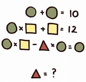 Resuelve el acertijo de las figuras geométricas