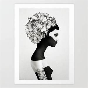 Popular Art Prints in black