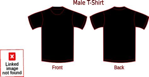 Tshirt Design Template Png by Black T Shirt Template Png Www Imgkid The Image