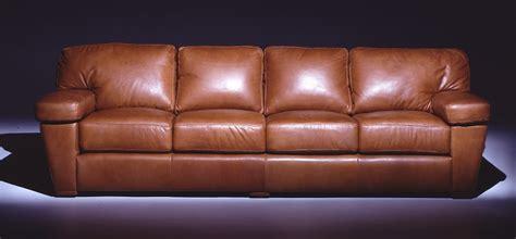 leather sofa cushions made to leather sofas prescott leather four cushion sofa